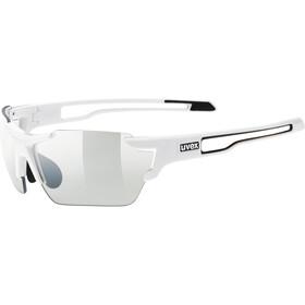 UVEX Sportstyle 803 V Sportsbriller small, white/smoke